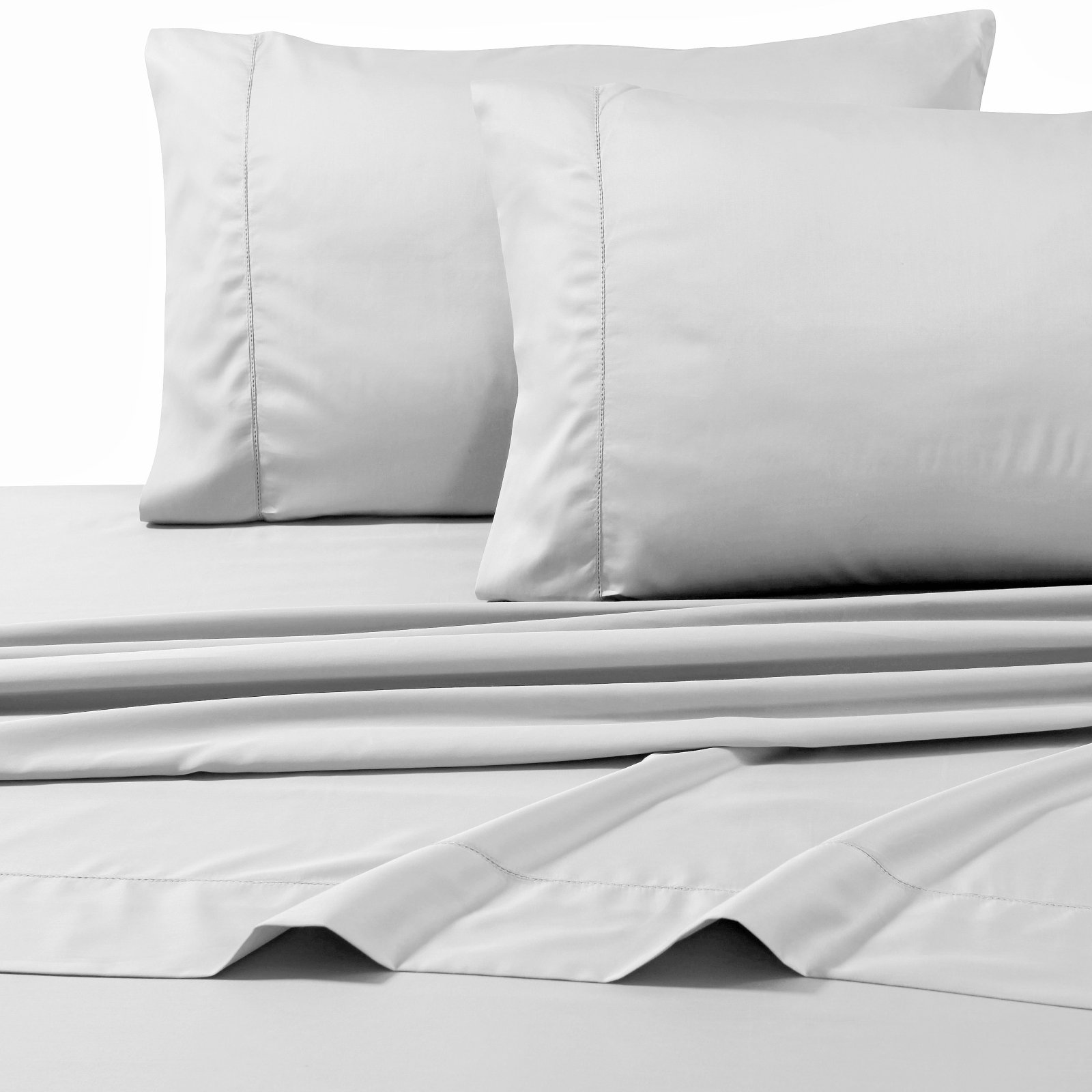 Tribeca Living 800TC Egyptian Cotton Sateen 4-Piece Sheet Set
