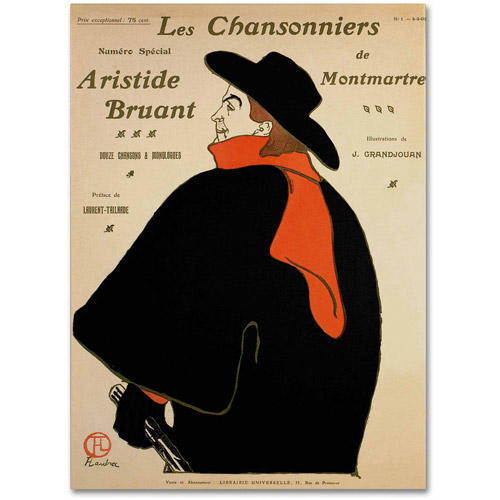 "Trademark Fine Art ""Les Chansonniers De"" Canvas Art"