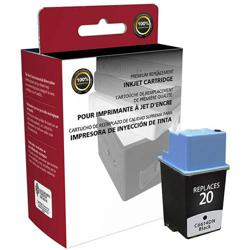 CIG Remanufactured Black Ink Cartridge (Alternative for HP C6614D 20) (455 Yield)