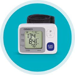 One Piece Blood Pressure Cuffs (Omron 3 Series Wrist Blood Pressure Monitor (60 Reading Memory))