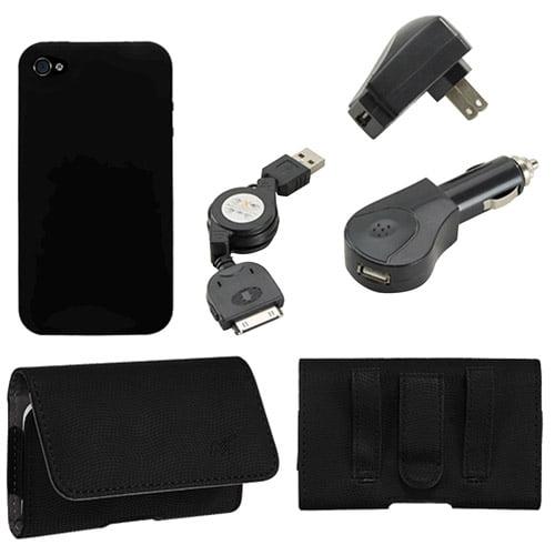KTA iPhone 4/4S 5-in-1 Combo Bundle