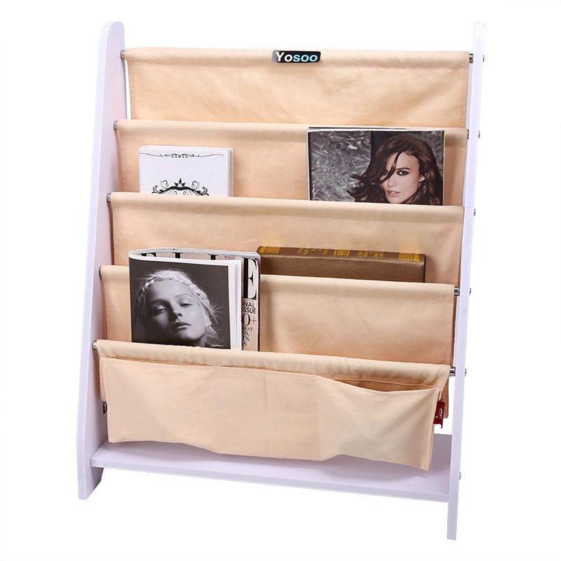 Superbe Childrens Kids Bookcase, Bedroom Water Resistant Bookshelf, Book Store  Shelf Toy Storage Organizer