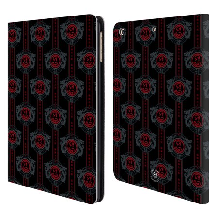 OFFICIAL ANNE STOKES MOTIF PATTERNS LEATHER BOOK WALLET CASE COVER FOR APPLE IPAD (Motif Trim)