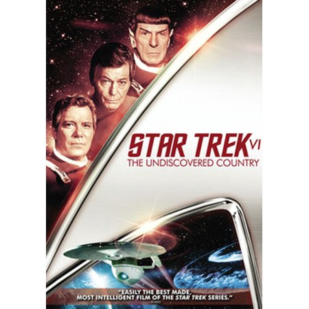 Star Trek VI: The Undiscovered Country (DVD) (Star Trek Vi The Undiscovered Country Cast)