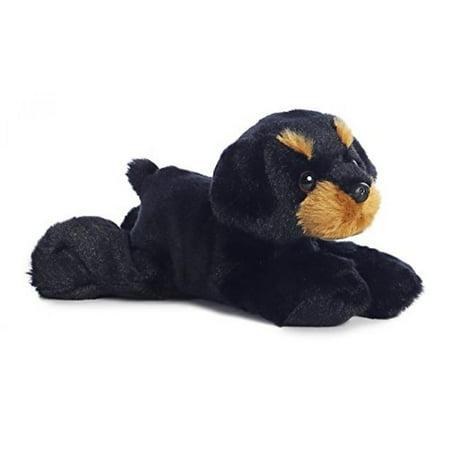 Rottweiler Head - Raina Rottweiler Mini Flopsie 8