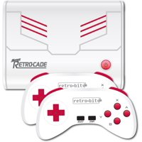 Retro-Bit Super Retro-Cade Plug and Play Retro Game Console Builtin over 90 Games: Mega Man 2, Double Dragon, Final Fight, Bad Dudes, and more.
