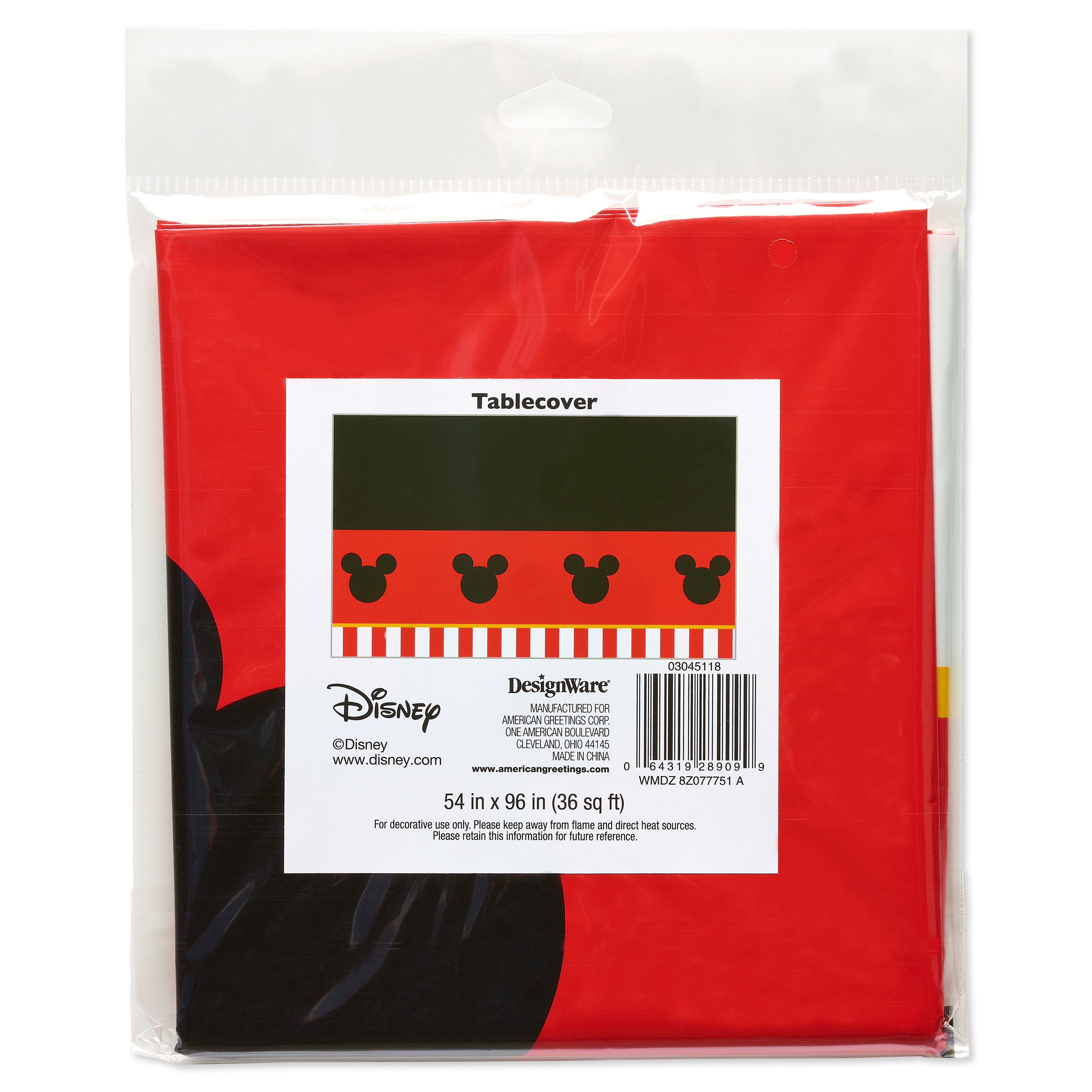 Mickey Mouse Party Supplies Walmart
