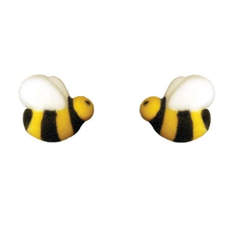 Bumble Bee 45222-4 Cake Dec-Ons Decorations 48 Pack by DecoPac - Halloween Cakes Decorations