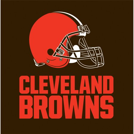 CREATIVE CONVERTING Cleveland Browns Napkins, 16-Pack