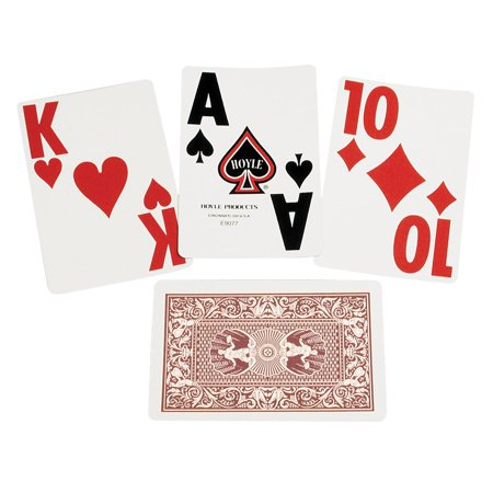 Playing Card Deck (Super Jumbo Playing Cards - Single Deck -)