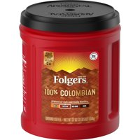 Folgers 100% Colombian Ground Coffee, 37-Ounce