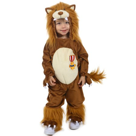 The Wizard of Oz Cowardly Lion Child Halloween Costume