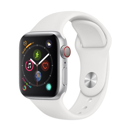 Apple Watch Series 4 GPS + Cellular - 40mm - Sport Band - Aluminum Case
