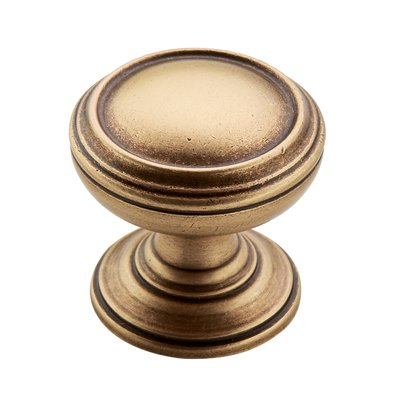 Revitalize 1-1/4 in (32 mm) Diameter Gilded Bronze Cabinet Knob