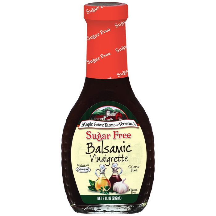 (3 Pack) Maple Grove Farms Balsamic Vinaigrette Dressing, 8 Oz