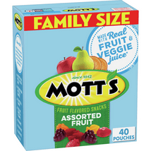 Fruit Snacks: Mott's Fruit Snacks