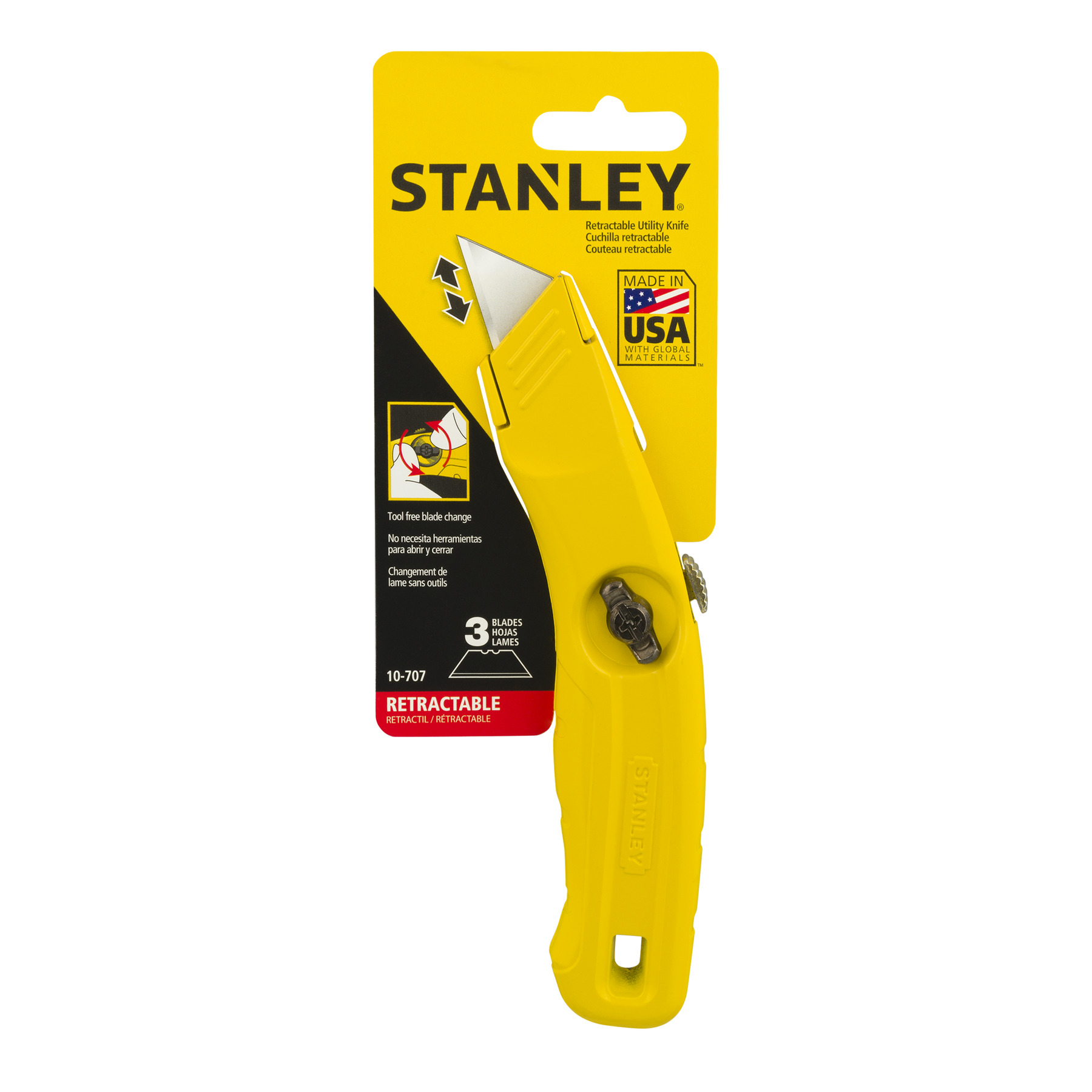 STANLEY 10-707 Retractable Utility Knife