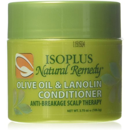 Isoplus Natural Remedy Olive Oil & Lanolin Contitioner, 4