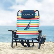 Nautica Beach Chair with Stripes
