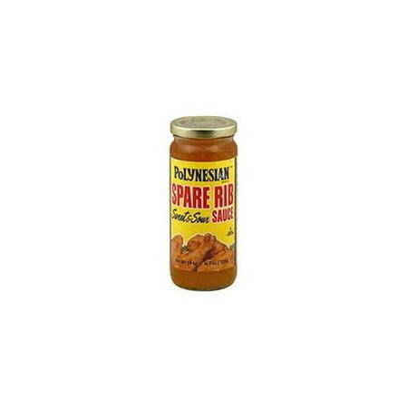- Polynesian Sparerib Sauce  Case of 12  10 oz.