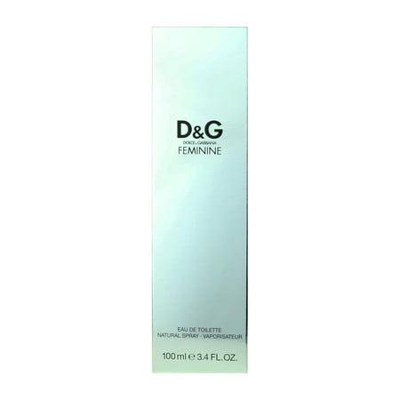eb7c0618081af Dolce   Gabbana Feminine Eau De Toillette Spray 3.4Oz 100ml New In ...