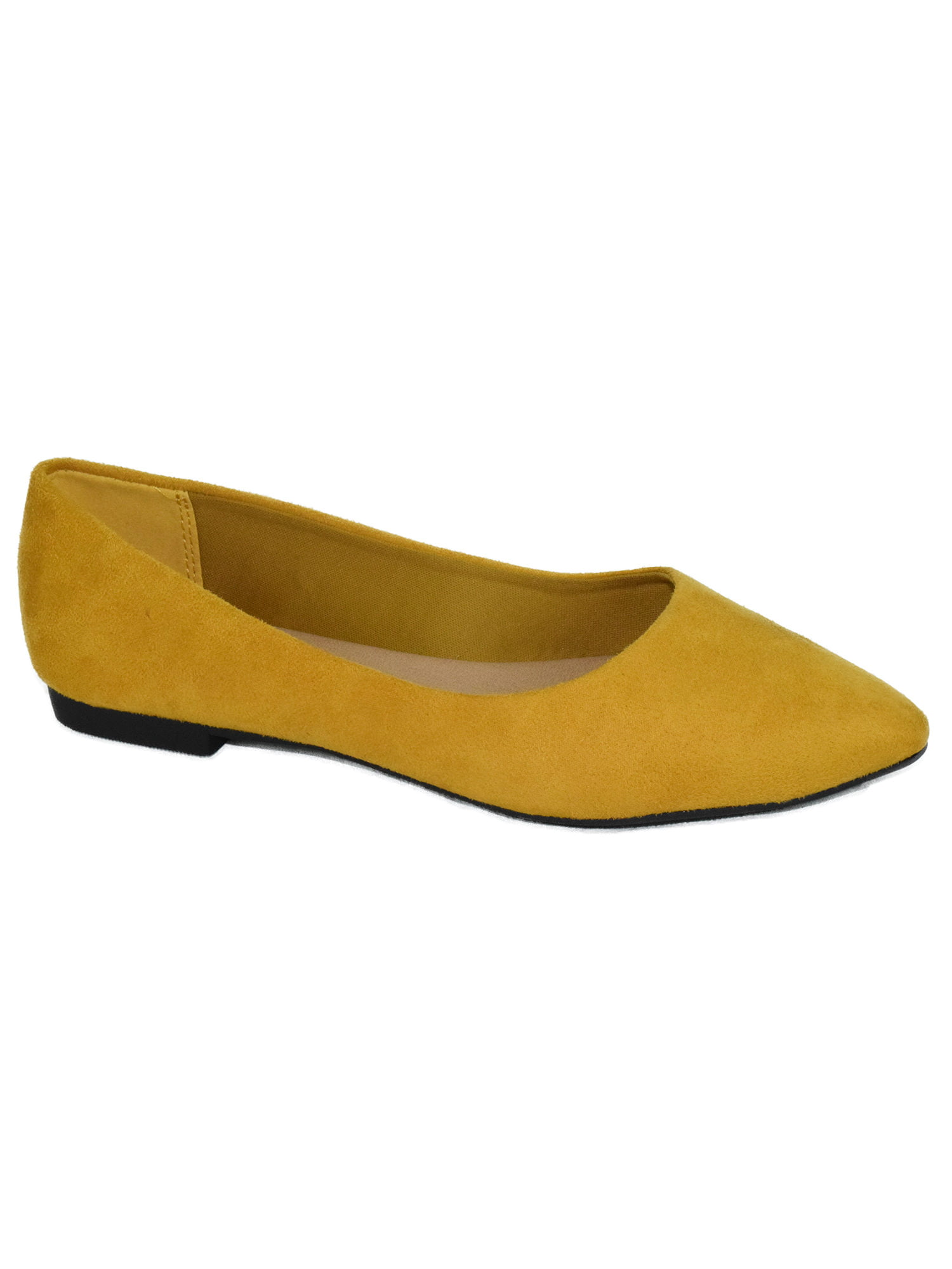 Hold Yellow Mustard Suede