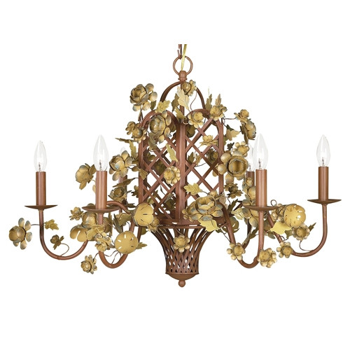 Jubilee Collection 6-Light Gazebo Candle-Style Chandelier