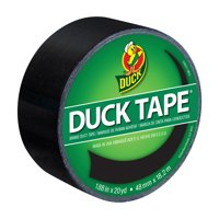 Duck Tape Brand 1.88 In. x 20 Yd. Black Color Duct Tape