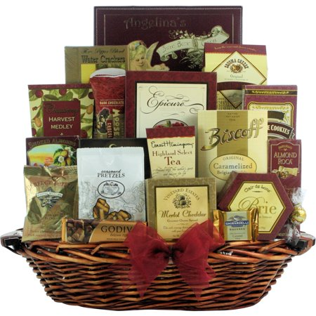 Merlot Cheddar - GreatArrivals.com Gift Baskets Great Arrivals Holiday Finer Things Gourmet Christmas Gift Basket