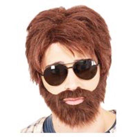 Vegas Hero Wig And Beard Alan Garner The Hangover Movie Zach Galifianakis - Alan Costume Hangover