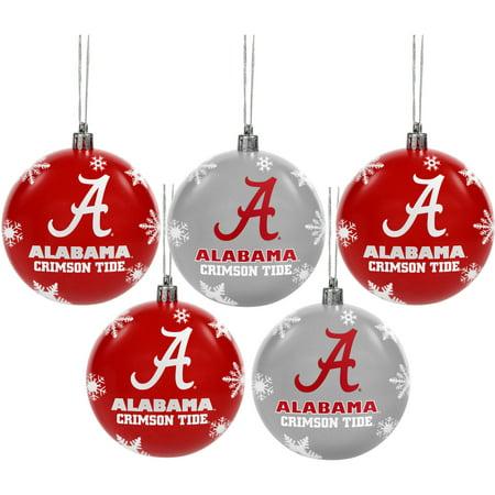 Alabama Crimson Tide Silver Star Ornament