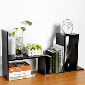 Topincn Diy Table Desktop Storage Rack Display Shelf Organizer Counter Top Bookcase Desktop Organizer Desk Bookcase