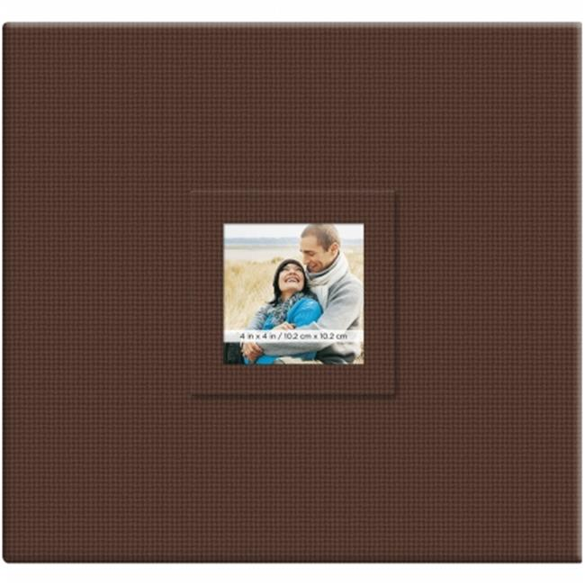 Earthtone Post Bound Scrapbook W/Window 12''X12''-Branch - image 1 de 1