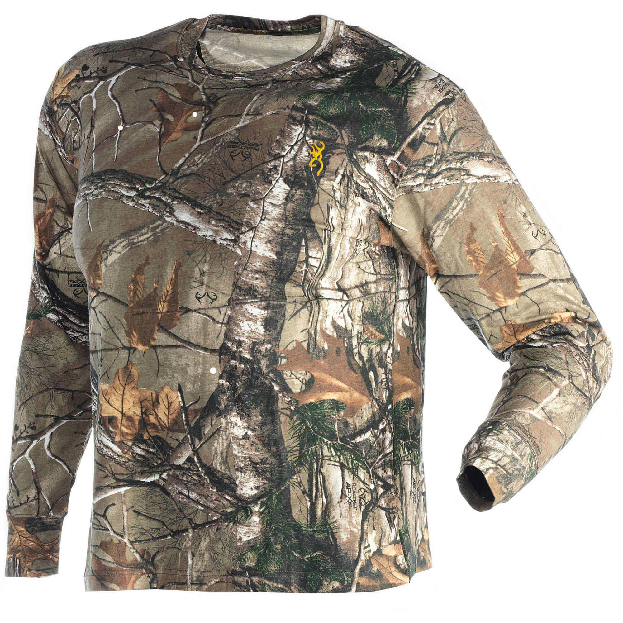 Browning 3011262403 Men's Raeltree Xtra Wasatch Long Sleeve T-Shirt Large by Browning