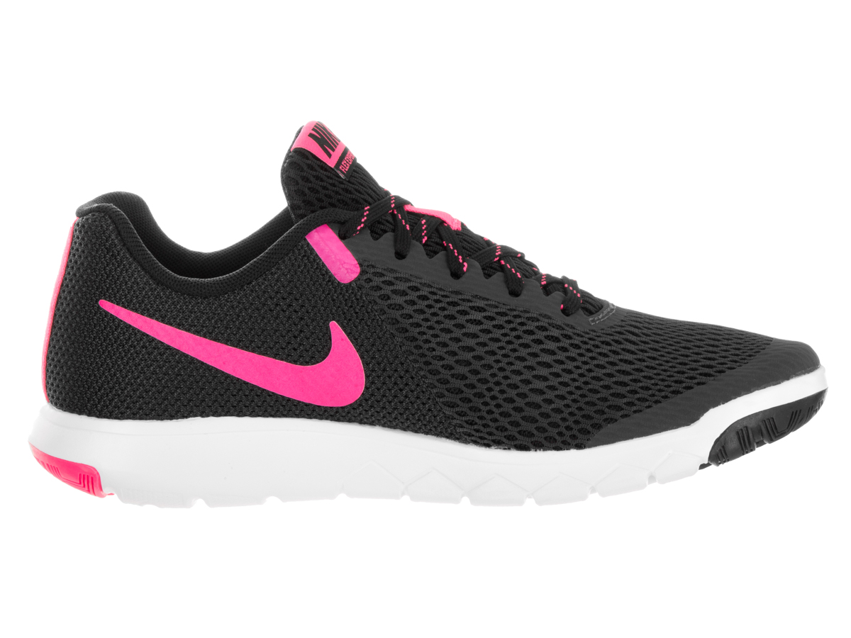 Nike - Nike Women s Flex Experience Rn 5 Anthracite   Pink Blast-Black-White  Ankle-High Fabric Running Shoe - 9M - Walmart.com a25a58a69