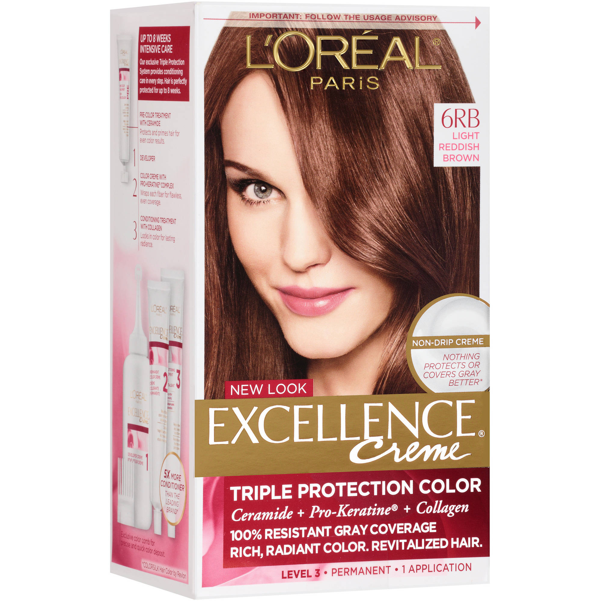Loreal Paris Excellence Creme Hair Color 5 Medium Brown 1 Kit