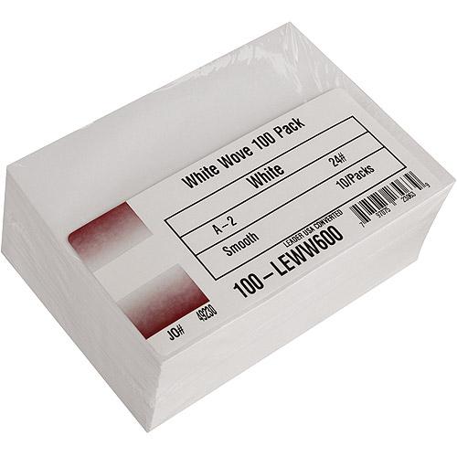 "Leader Paper Products A2 Envelopes, 4.375"" x 5.75"", 100/Pkg"