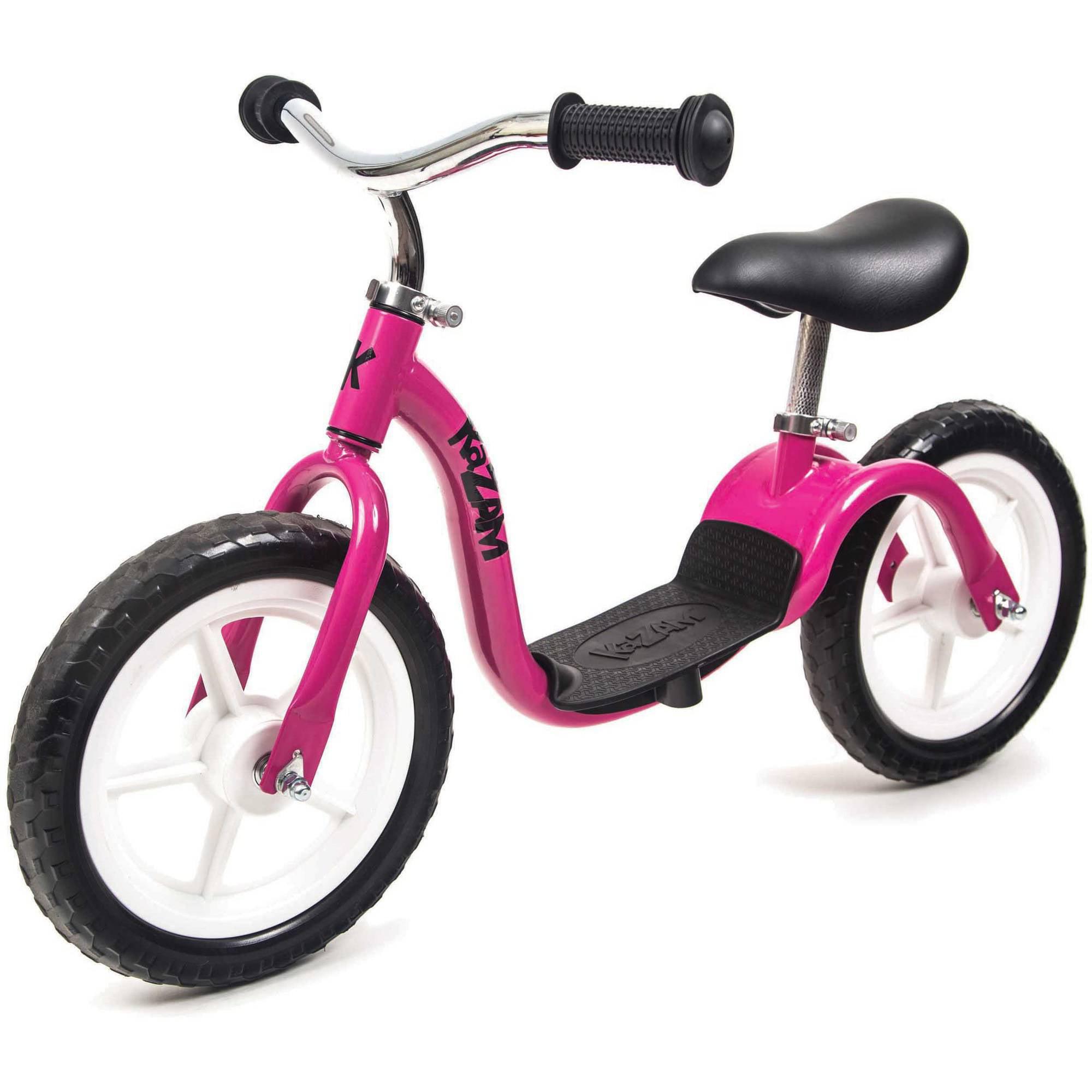 KaZAM Child's, Tyro Balance Bike v2e, Pink, For Ages 2-5