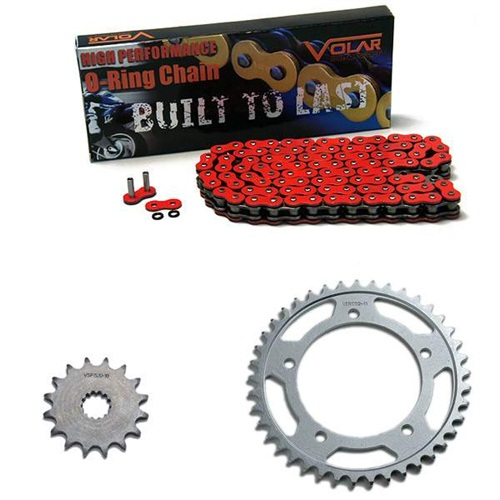 1999-2001 Triumph Adventurer 900 O-Ring Chain and Sprocket Kit - Red