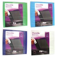 """Avery Durable View Binder with 3"""" Slant Rings 17048, Assorted"""