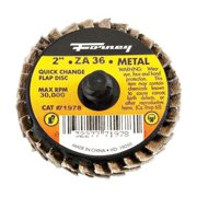 Forney Industries 71978 2 in. Quick Change Mini-Flap Disc  36 Grit