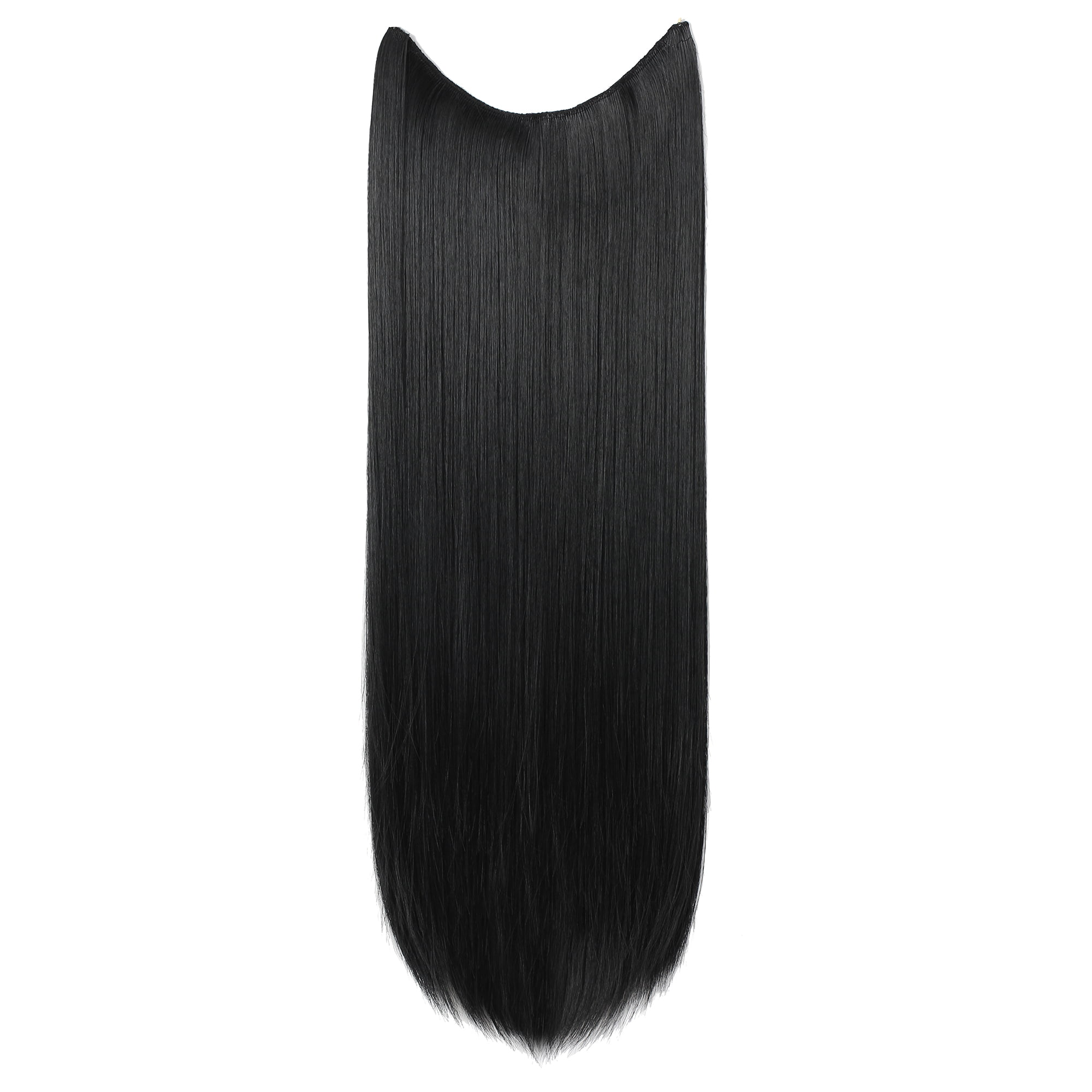 Onedor 24 Straight Transparent Wire Hair Extensions 27h613
