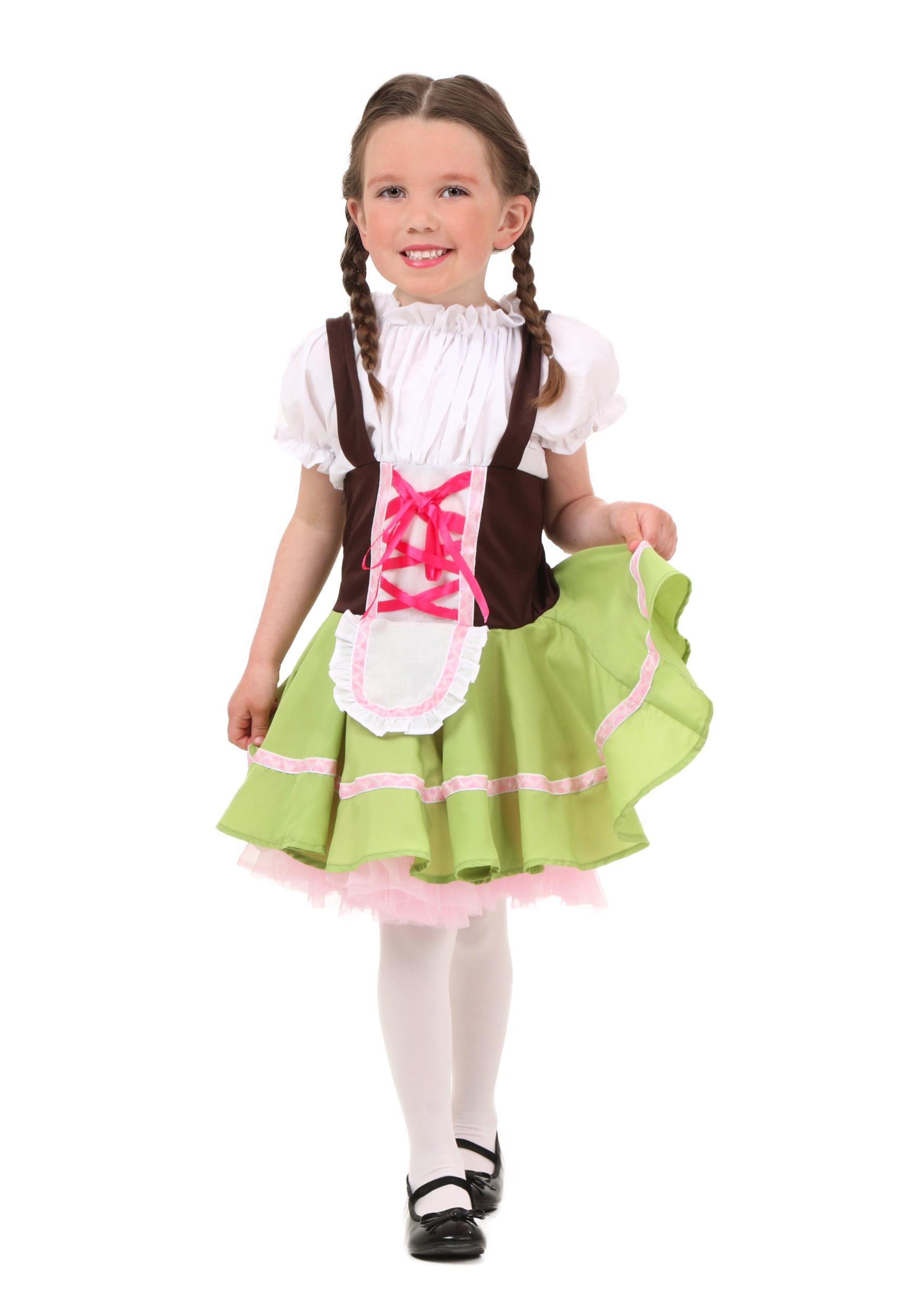 toddler german girl costume walmart