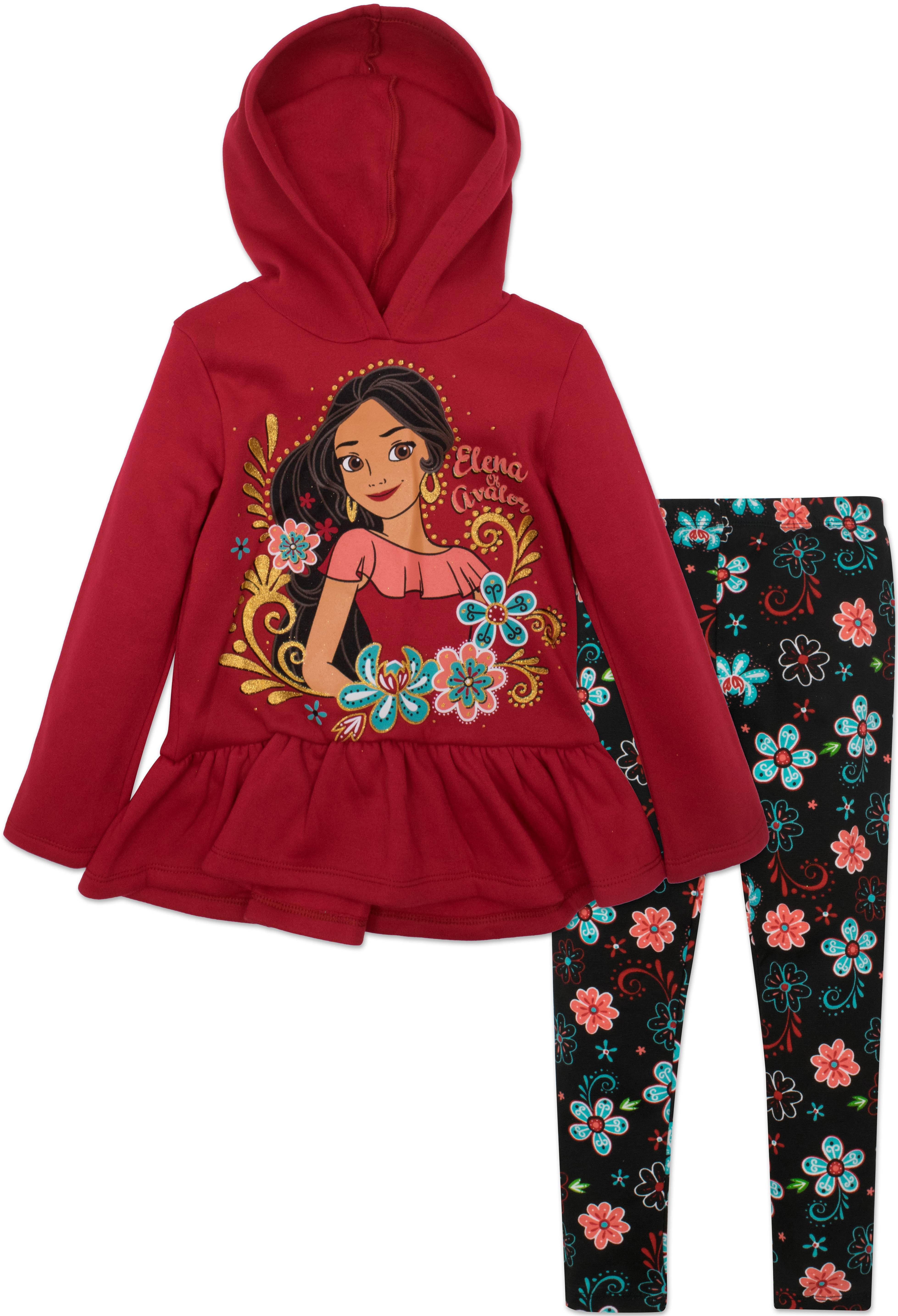 Disney Girls Toddler 2 Piece Elena of Avalor Sweatshirt Set