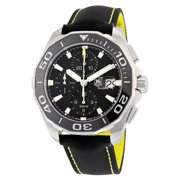 Tag Heuer Aquaracer Chronograph Black Dial Men's Watch CAY211A.FC6361