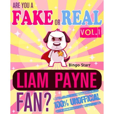Are You a Fake or Real Liam Payne Fan? Volume 1: The 100% Unofficial Quiz and Facts Trivia Travel Set Game - eBook](Trivia Quiz Halloween)