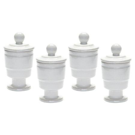 Dimond Home Polar Filled Votive Candle - Set of 4