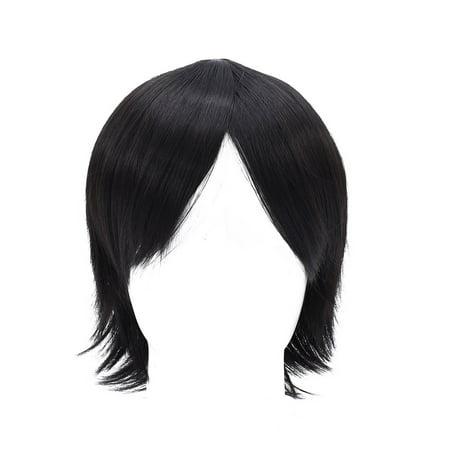 Cosplay Wig Beautiful Short Black Synthetic Full Hair Wigs Cosplay Wig Walmart Canada