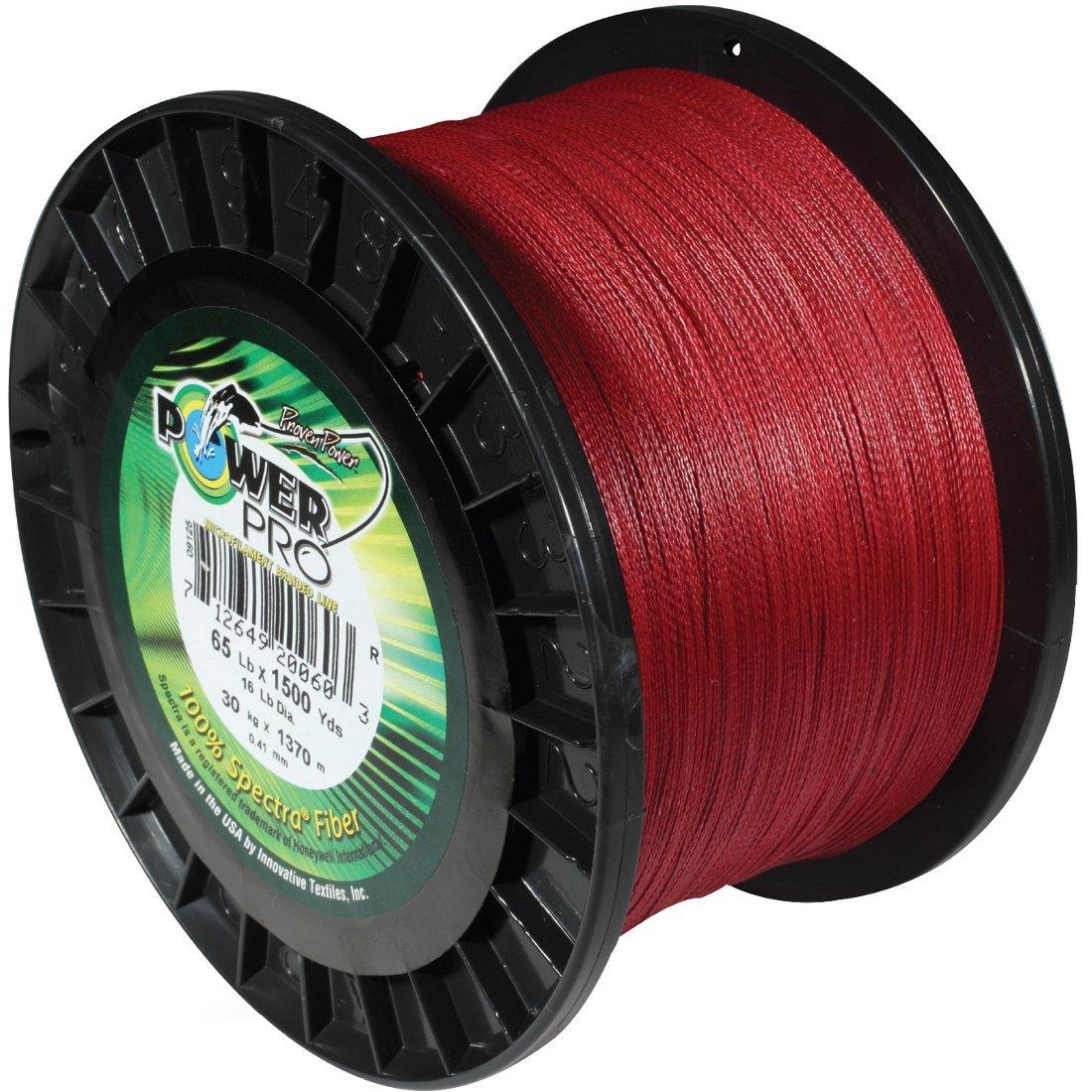 NEW POWER PRO SPECTRA BRAID VERMILLION RED 20LB 300YDS 21100200300V
