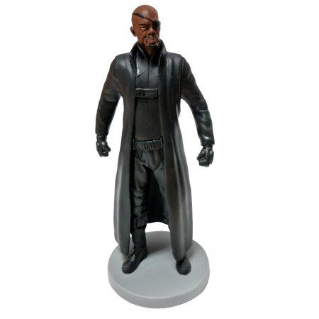 - Marvel Nick Fury PVC Figure [No Packaging]